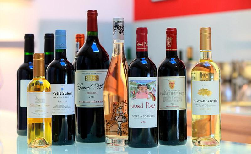 Grandissime nos vins